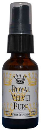 The Healthy Protocol Royal Velvet Pure Deer Antler Liposomal Spray  (1fl oz/30ml)
