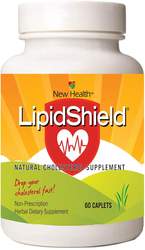 New Health Corp LipidShield for Cholesterol Support (60 Caplets)