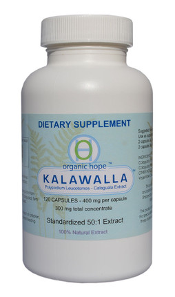 Kalawalla (Calaguala) with Polypodium Leucotomos - Immune Support Supplement (120 VCaps)