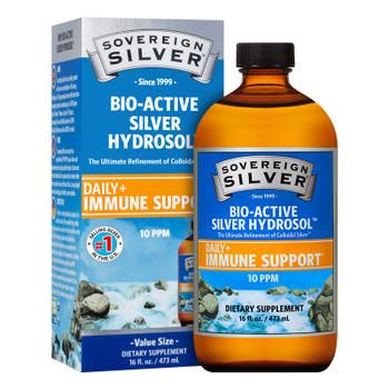 Sovereign Silver Bio-Active Colloidal Silver Hydrosol 10 PPM (16 oz)