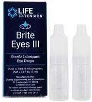 Life Extension Brite Eyes lll (NAC) N-acetyl-L-carnosine Eye Drops