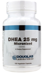 Douglas Laboratories DHEA 25 mg. (100 Micronized VCaps)