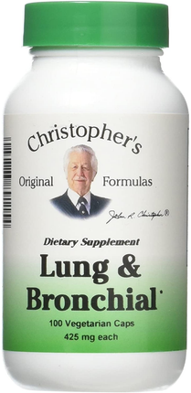 Dr. Christopher's Lung & Bronchial Formula 100 V Capsules