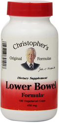 Dr. Christopher's Lower Bowel Formula (100 Vegetarian Caps)