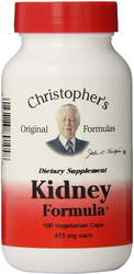 Dr Christopher's Kidney Formula - A synergistic blend of herbs for the urinary system, kidney & bladder health.