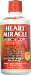Heart Miracle 40 Heart Healthy Cardiovascular Nutrients 32 fl oz