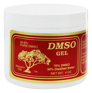 Nature's Gift DMSO Gel | 70% DMSO 30% Distilled Water (4 oz.)