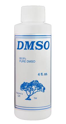 Nature's Gift DMSO Liquid 99.9% Pure in 4 oz Plastic Bottle