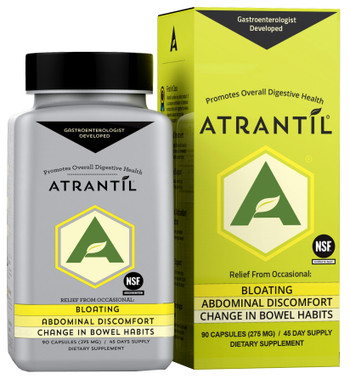 ATRANTIL - Bloating, Gas Relief and Everyday Digestive Health (90 Caps)