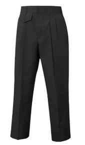 Female Pleated Front Pants - Black Only