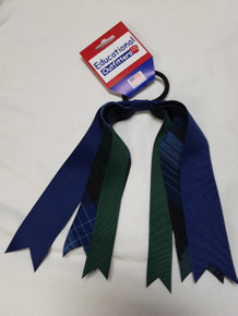 Ribbon Streamer Plaid 46