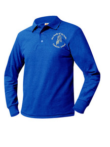 Pique Royal Long Sleeve Polo Shirt - OLOTL