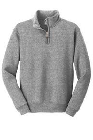 JERZEES® Youth NuBlend®; 1/4-Zip Cadet Collar Sweatshirt w/Embroidery Logo - Trinity