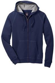 Hanes® Nano Full-Zip Hooded Sweatshirt w/Embroidery Logo - Trinity