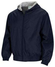 Classroom Unisex Zip Front Bomber Jacket
