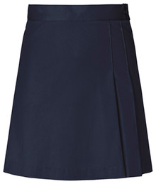 Girls Full Wrap Skort - Navy Only