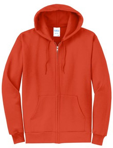 Port & Company® - Core Fleece Full-Zip Hooded Sweatshirt - BASIS