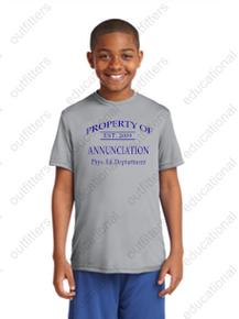 PE Dri-Fit Silver Shirt w/PE logo - ACS