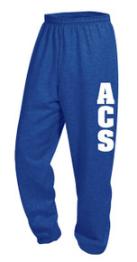 PE Sweatpant Royal w/logo - ACS