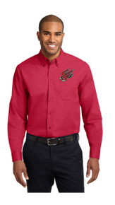 Faculty Men's Long Sleeve Oxford - FC