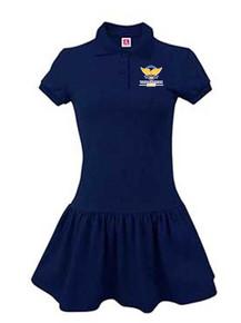 Navy Polo Dress w/VCA Logo