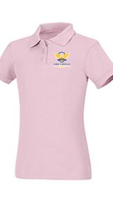 Polo - Classroom Girls Short Sleeve Interlock  w/VCA Logo