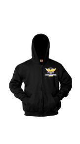 Sweatshirt - Full Zip Hoodie w/VCA Logo