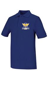 Polo - Classroom Interlock Short Sleeve Unisex w/VCA Logo Girl Colors