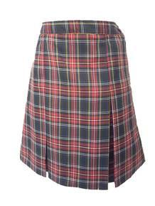 Center Box Pleat Skirt P56