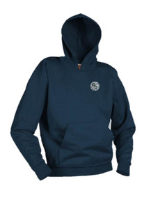 Navy Pullover Hooded Sweatshirt - Immaculate Conception