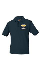 Polo - A+ Pique Unisex Short Sleeve  w/VCA Logo Boys Polos