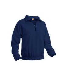 Quarter-Zip Pullover Fleece Jacket