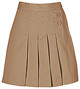 Girls Skort - Two Tab w/Pleats