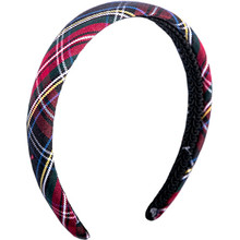 Padded Headband Plaid 56
