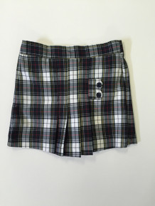 Grades 1st - 8th Girls Two Tab w/Pleats Skort - P8B