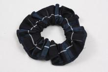 Hair Scrunchie Plaid 3D