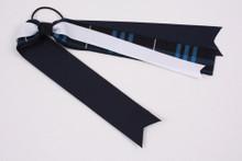 Ribbon Streamer Plaid 3D