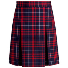 Plaid Skirt Center Box Pleat P36 - FC
