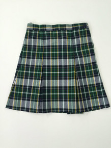 Girls Skirt Center Box Pleat P1B - Grades 4th - 8th Only