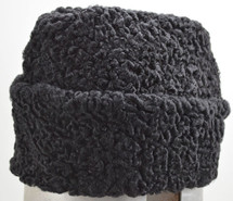 Real Black Persian Fur Hat  New made in the USA