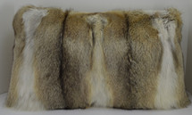 Kit Fox Fur Pillow New made in the USA Made in the USA