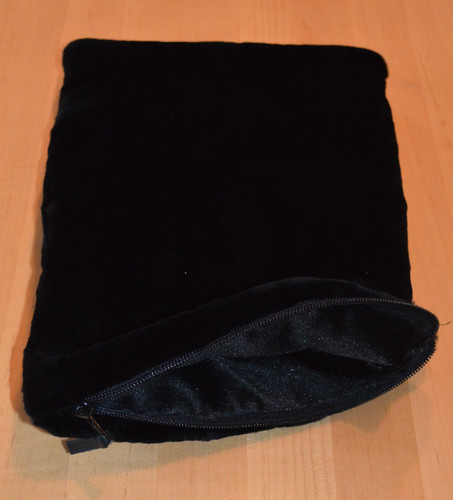 Real Mink Fur Pouch