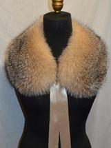 Real Crystal Fox fur Collar