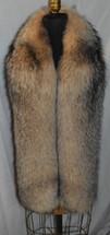 Crystal Fox Fur Scarf Boa Fling Wrap Stole