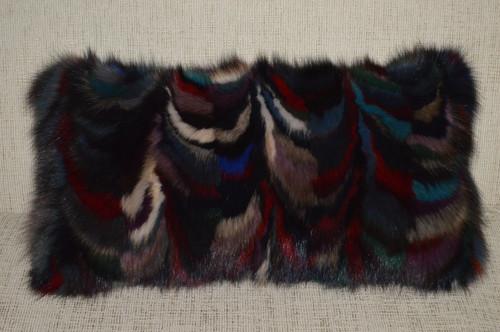 Authentic Sable Fur Pillow