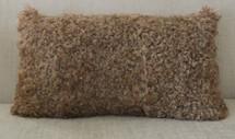 Real Kalgan lamb fur pillow
