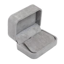 Round Corner Suede Earring Box