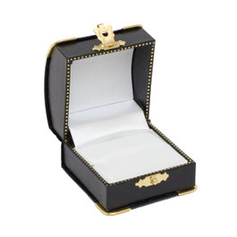 Ring Box with Gilt Trim