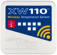 Wireless Wi-Fi Temperature Sensor with built in Web server     part# XW-110