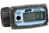 GPI - 1 in. NPT Nylon Water Meter - Item # 113255-4